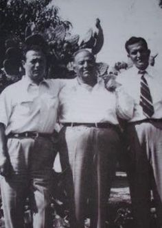 John Morales and Gaspar DiGregorio, Bonanno family. Morales was underboss and the other would've been boss, the commission backed him but became dissatisfied with him and opted for Paul Sciacca. He was shelved in the end. Pic courtesy of Dov Gross.