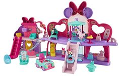 """Fisher-Price Disney Minnie - Glam Shopping Mall Playset - Mattel - Toys""""R""""Us Little Girl Toys, Baby Girl Toys, Toys For Girls, Minnie Mouse Toys, Disney Mickey Mouse Clubhouse, Diy Cards Video, Toddler Toys, Kids Toys, Birthday Surprise For Husband"""