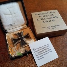 Iron Cross 1st Class - Carton