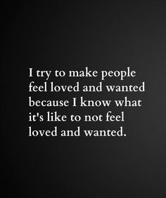 Loved & wanted...