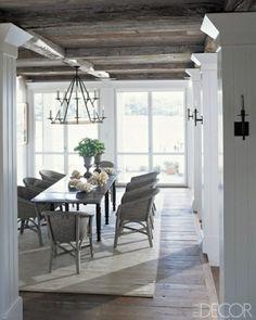 Beautiful soft hued dining room. Elle Decor via justinetaylor.tumblr