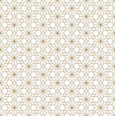 Seamless geometric pattern based on japanese ornament kumiko . Chinese Patterns, Japanese Patterns, Japanese Design, Japanese Style, Vector Pattern, Pattern Design, Japanese Background, Japan Illustration, Japanese Artwork