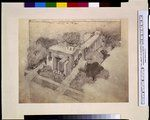 Frank Lloyd Wright Fraternity house for Phi Gamma Delta, 16 Langdon Street, Madison, Wisconsin. Exterior front and side, bird's-eye view 1925 LOC http://www.loc.gov/pictures/collection/cph/item/2002735811/