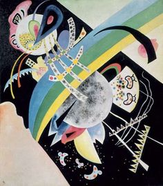 Wassily Kandinsky - Circles on Black, 1921