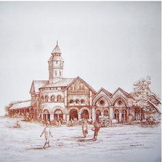 On View at Pradarshak - Old Crawford Market,Mumbai Landmarks by Sidhaling Ankalkote