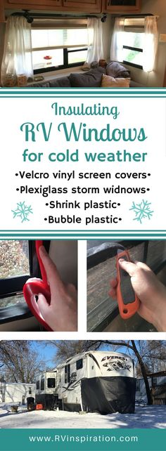 I Insulated Our RV Windows for Winter Here's how I made DIY plexiglass storm windows and clear vinyl Velcro screen covers to prepare my RV for cold weather this winter.Cover Cover or covers may refer to: