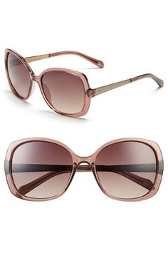 Fossil 57mm Oversize Sunglasses available at #Nordstrom