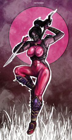 Fury by Mister69M Taki (Soul Calibur)