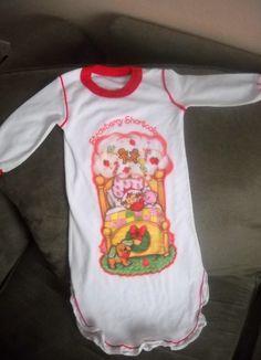 Rare Vintage Strawberry Shortcake Childs Nightgown by Wretchedhive, $20.00 #StrawberryShortcake #Vintage #Nightgown