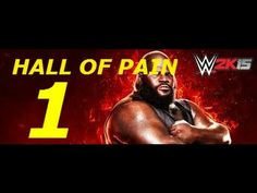 WWE 2K15 SHOWCASE DLC HALL OF PAIN