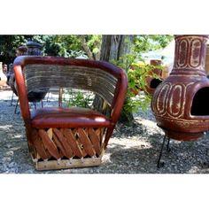 Table et chaises meuble mexicain on pinterest salons for Chaise de bar orange aixen provence