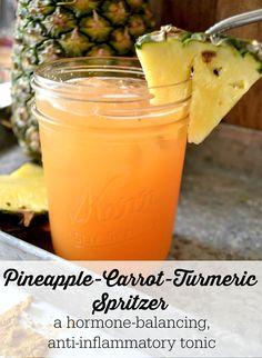 Pineapple-Carrot-Turmeric-Spritzer