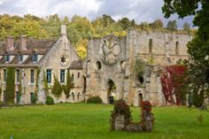 Vue abbaye de cerna