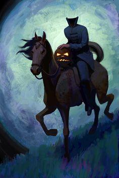 Have A Headless Horseman Halloween http://www.theatreofyouth.org
