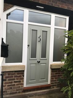 The Ludlow in Painswick fitted with sidescreens and top boxes with Victorian glass Entrance, Garage Doors, Boxes, Victorian, Glass, Outdoor Decor, Top, Beautiful, Home Decor
