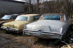 Abandoned US cars