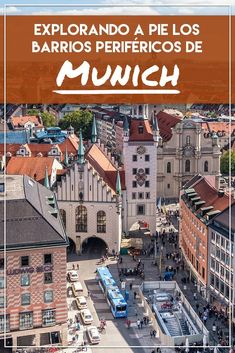 20 Lugares que ver y hacer en Munich que son imprescindibles Top Travel Destinations, Places To Travel, Germany Travel, Wonderful Places, Times Square, Adventure, Vacation, Mansions, House Styles