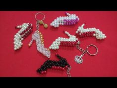 Beading Projects, Beading Tutorials, Beading Patterns, Pearl Crafts, Beaded Crafts, Beaded Bags, Beaded Jewelry, Beaded Angels, Diy Crafts For Gifts