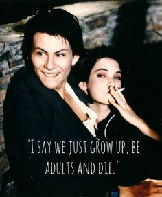Veronica Sawyer and Jason Dean