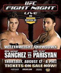 UFC Fight Night 6.