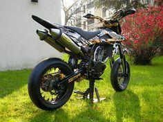 Black & Gold Husqvarna SMR