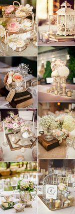 Amazing 30 Vintage Wedding Ideas for 2017 Trends