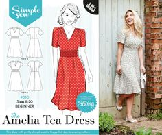 The Amelia Tea dress