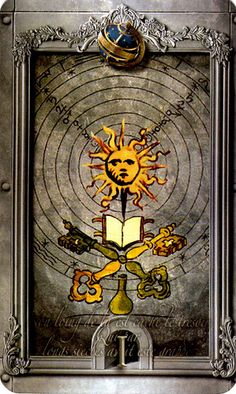 Lost Tarot of Nostradamus Ace of Spheres