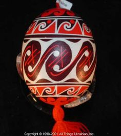 Ukrainian Easter Egg Pysanky 01- 494 by Iryna Vakh  from Lviv, Ukraine on AllThingsUkrainian.com