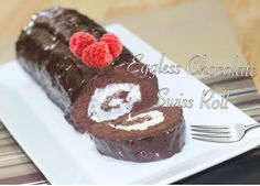 Baking Without eggs is one of my biggest passion. Here is a simply delightful recipe for an eggless Chocolate Swiss Roll. GETTING READY Preheat oven at 425 F...