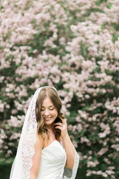 mantilla wedding veil cathedral length with rose lace available with or without a blusher www.themantillacompany.com