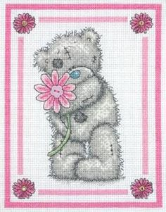 Special Flower Tatty Teddy Kit by Anchor only £21.50