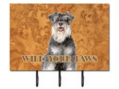 Features:  -Hold keys and leashes or just about anything.  -Functional product and great gift.  -Colorful artwork.  -Hardboard tile.  -Metal plate on back with built in hanger.  -Add several to make a