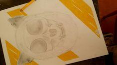 Skull /modern /drawing