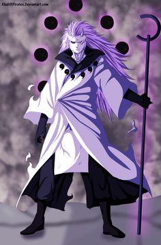 Naruto 663 - Madara Sage Of Six Paths by KhalilXPirates