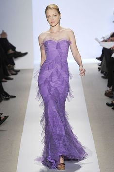 Badgley Mischka Spring 2009 Ready-to-Wear Fashion Show - Jessica Stam