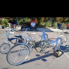 Low Rider bicycles.