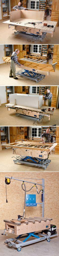 Assembly Table - MT1 | Montagetische Einemann http://montagetische.info/cms/front_content.php?idcat=10&lang=1