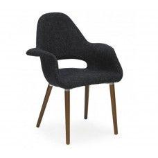 Charles & Ray Eames Inspired Organic Chair - Dark Grey
