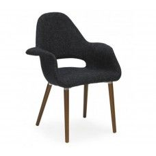 Charles & Ray Eames Inspired Organic Chair - Dark Grey