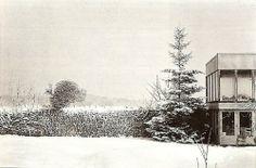 ALISON & PETER SMITHSON  Upper Lawn Pavilion, Wiltshire. UK 1959 - 1962