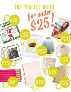 Holiday Gift Guide: Under $25