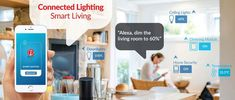 Enjoy the benefits of smart WiFi bulbs for full control over your home light fixtures. Alter color and brightness, use movement sensor units so lights switch on as you enter an area. They are also first-class for your home security. Uk Homes, Wireless Security, Home Automation, Downlights, Smart Home, Wifi, Ceiling Lights, Bulbs, Gadgets