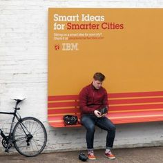 Ads with a New Purpose by Ogilvy & Mather for IBM- now that is some smart advertising