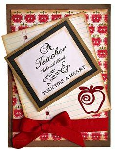 Teacher Appreciation Card by Design Team Member Angie Contreras.