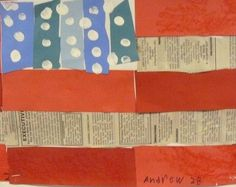 Ringgold Flag Story quilt/ Memorial Day Art Project?