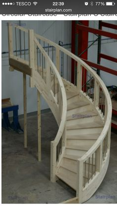 Staircase for loft conversion
