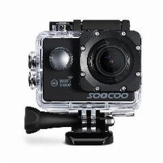 [ 19% OFF ] Soocoo C10S Sports Action Waterproof Camera With Wifi Full-Hd 1080P 12Mp 2.0 Lcd 170 Degree Wide Lens
