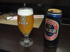 Cerveja Faxe Royal Export, estilo Premium American Lager, produzida por Faxe Bryggeri, Dinamarca. 5.6% ABV de álcool.