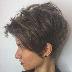 "673 Likes, 4 Comments - Евгения Панова (@panovaev) on Instagram: ""@osipov_studio_n95 #shorthair #h#s #pixie#haircut#short #короткиестрижки #стрижка"""